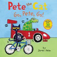 Купить Pete the Cat: Go, Pete, Go!, Зарубежная литература для детей