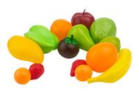 Купить EstaBella Игровой набор Овощи и фрукты Главные продукты 14 элементов, Сюжетно-ролевые игрушки