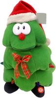 Купить Lapa House Мягкая озвученная игрушка Елка в колпаке 25 см, Мягкие игрушки