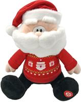 Купить Lapa House Мягкая озвученная игрушка Санта 25 см, Мягкие игрушки