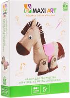 Купить Maxi Art Набор для творчества Игрушка из фетра Лошадка, Игрушки своими руками
