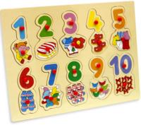 Купить Фабрика Фантазий Пазл для малышей Цифры, Обучение и развитие