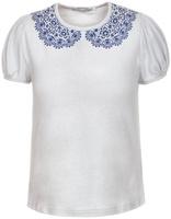 Купить Блузка для девочки Nota Bene, цвет: серый. CJR27030A20. Размер 134, Одежда для девочек