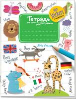 Купить Айрис-пресс Тетрадь для записи иностранных слов цвет белый зеленый, Тетради