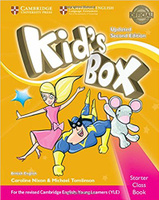 Купить Kid's Box Updated 2 Edition Pupil's Book Starter, Английский язык