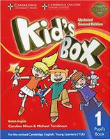 Купить Kid's Box Updated 2 Edition Pupil's Book 1, Английский язык