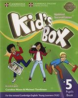 Купить Kid's Box Updated 2 Edition Pupil's Book 5, Английский язык