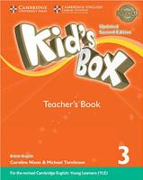 Купить Kid's Box Updated 2 Edition Teacher's Book 3, Английский язык