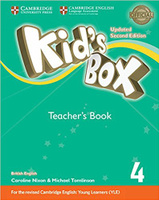 Купить Kid's Box Updated 2 Edition Teacher's Book 4, Английский язык
