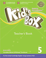 Купить Kid's Box Updated 2 Edition Teacher's Book 5, Английский язык