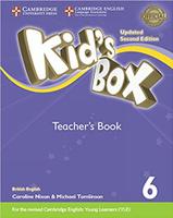 Купить Kid's Box Updated 2 Edition Teacher's Book 6, Английский язык