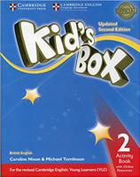 Купить Kid's Box 2: Activity Book with Online Resource, Английский язык