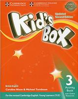 Купить Kid's Box Updated 2 Edition Activity Book 3 with Online Resource, Английский язык