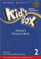Купить Kid's Box Updated 2 Edition Teacher's Resource Book 2 with Online Audio, Английский язык