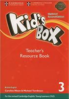 Купить Kid's Box Updated 2 Edition Teacher's Resource Book 3 with Online Audio, Английский язык
