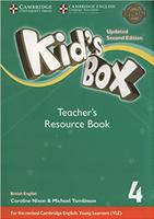 Купить Kid's Box Updated 2 Edition Teacher's Resource Book 4 with Online Audio, Английский язык