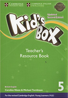Купить Kid's Box Updated 2 Edition Teacher's Resource Book 5 with Online Audio, Английский язык
