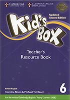 Купить Kid's Box Updated 2 Edition Teacher's Resource Book 6 with Online Audio, Английский язык