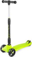 Купить Самокат Zycom Zinger Maxi XL , со складной ручкой, 3-колесный, со светящимися колесами, цвет: зеленый, Самокаты