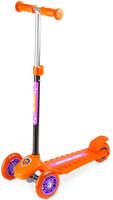 Купить Самокат Small Rider Zoo Galaxy One , 3-колесный, со светящимися колесами, цвет: оранжевый, Самокаты