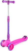 Купить Самокат Zycom Zinger Maxi XL , со складной ручкой, 3-колесный, цвет: розовый, Самокаты