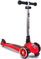 Купить Самокат Scoot&Ride HighwayKick 3 Fold , со складной ручкой, цвет: красный, Самокаты