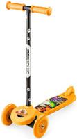 Купить Самокат Small Rider Cosmic Zoo Scooter Flash. 2 в 1 , со светящимися колесами, цвет: оранжевый, Самокаты
