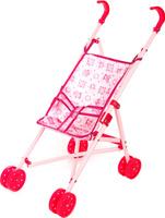 Купить Ami&Co Коляска для кукол цвет розовый 58971, Amico, Куклы и аксессуары