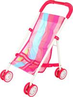 Купить Ami&Co Коляска для кукол цвет розовый малиновый голубой 58976, Amico, Куклы и аксессуары