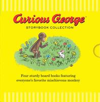 Купить Curious George Storybook Collection (board books), Зарубежная литература для детей