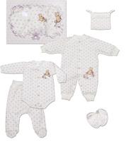 Купить Комплект одежды детский Мамуляндия, цвет: бежевый, 5 предметов. 15-5009. Размер 68, Одежда для новорожденных