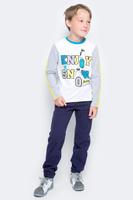 Купить Брюки для мальчика PlayToday, цвет: темно-синий. 371156. Размер 98, Одежда для мальчиков