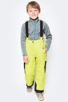 Купить Брюки утепленные для мальчика PlayToday, цвет: желтый, черный. 370002. Размер 98, Одежда для мальчиков