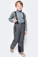 Купить Брюки утепленные для мальчика PlayToday, цвет: серый. 371104. Размер 98, Одежда для мальчиков