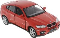 Купить Kinsmart Модель автомобиля BMW X6 цвет красный, Машинки