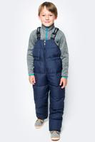 Купить Полукомбинезон для мальчика Ёмаё, цвет: темно-синий. 47-122. Размер 128, Одежда для мальчиков