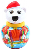 Купить Неваляшка Stellar Белый медведь Тёма , 16 см, в ассортименте, Стеллар, Первые игрушки