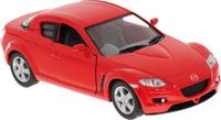 Купить Kinsmart Модель автомобиля Mazda RX-8 цвет красный, Машинки