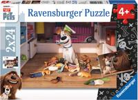 Купить Ravensburger Пазл для малышей Тайная жизнь домашних животных 2 в 1, Обучение и развитие