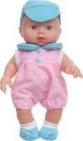 Купить S+S Toys Пупс озвученный цвет одежды розово-голубой, Куклы и аксессуары