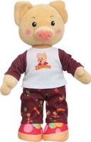 Купить Спокойной ночи, малыши! Мягкая озвученная игрушка Хрюша в пижаме 27 см, Мягкие игрушки