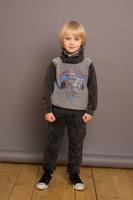 Купить Брюки спортивные для мальчика Sweet Berry, цвет: темно-серый. 733039. Размер 98, Одежда для мальчиков