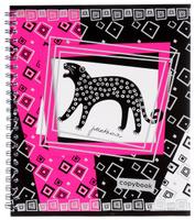 Купить Полиграфика Тетрадь Контрастная открытка Пантера 60 листов в клетку, Тетради