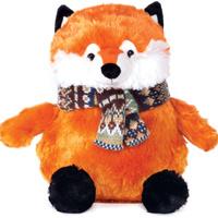Купить Gulliver Мягкая игрушка Лис в шарфике 22 см, Мягкие игрушки