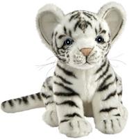 Купить Hansa Мягкая игрушка Тигренок цвет белый 17 см, Hansa Toys, Мягкие игрушки