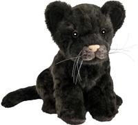Купить Hansa Мягкая игрушка Детеныш ягуара цвет черный 17 см, Hansa Toys, Мягкие игрушки
