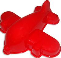 Купить Полесье Игрушка для песочницы Формочка Самолёт цвет красный, Игрушки для песочницы