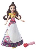 Купить Disney Princess Кукла Бель в юбке с проявляющимся принтом, Куклы и аксессуары