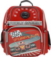 Купить Grizzly Ранец школьный цвет красный RA-677-2, Ранцы и рюкзаки