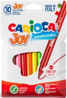Купить Carioca Joy Набор фломастеров 10 цветов, Universal, Фломастеры